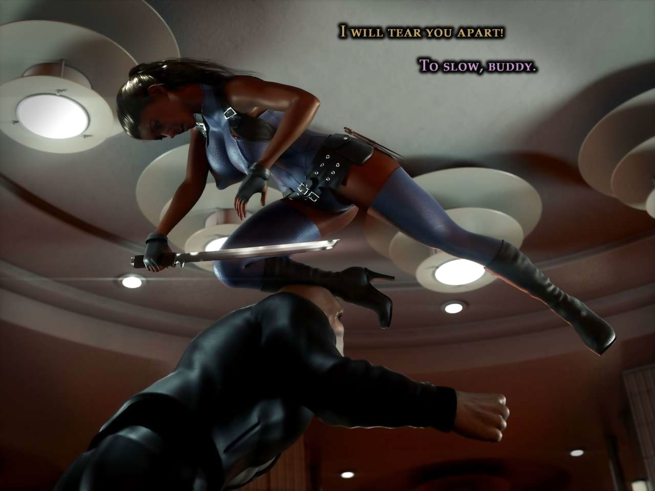 Cacodaemon Huntress Diana Instalment 2