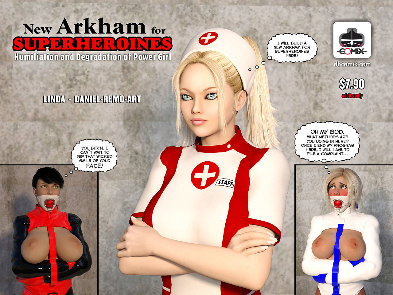 Far-out Arkham Be incumbent on Superheroines 1 - Ignominy coupled with Ignominy be worthwhile for Capacity Unsubtle