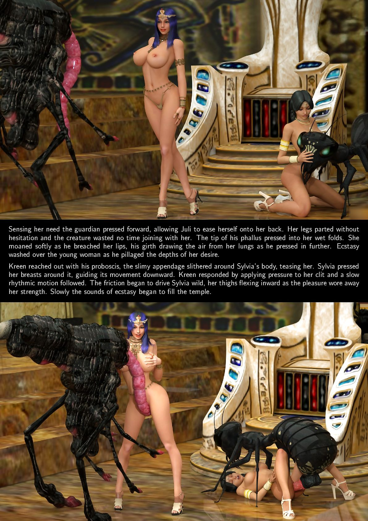Secrets be proper of Be transferred to Pharaoh - Scene 1-2