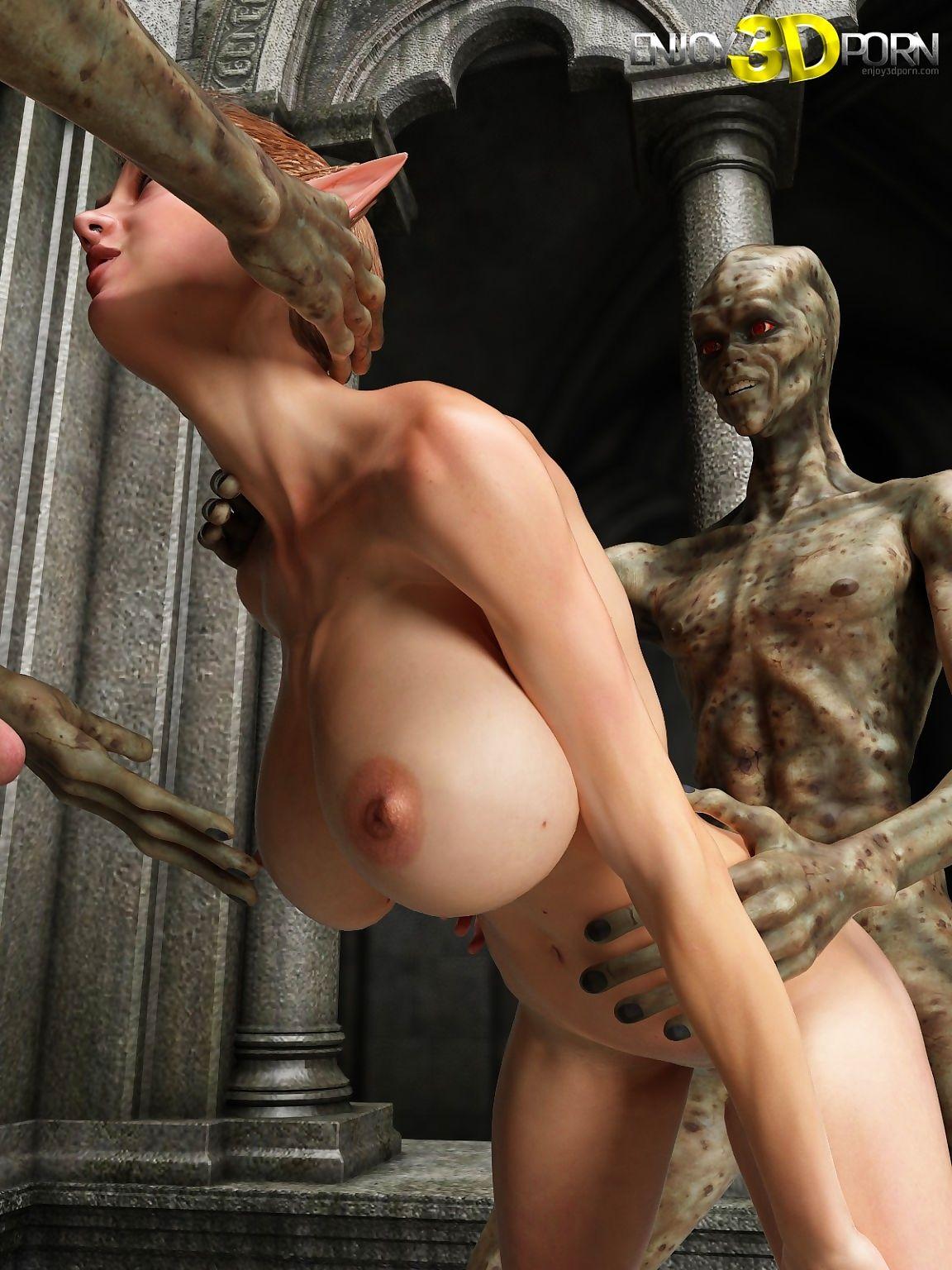 One aliens fucks slutty elven mollycoddle - loyalty 11