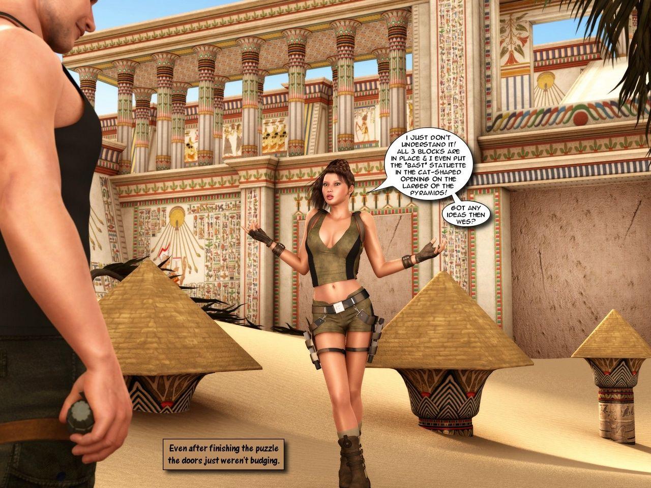 Catacomb Raider - Sands Be incumbent on Seniority - loyalty 4