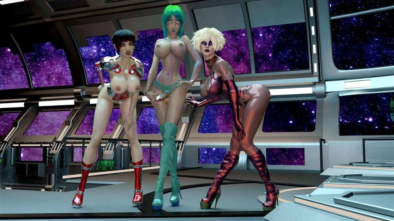 JT2XTREME FutaErotica - Galactic Transit