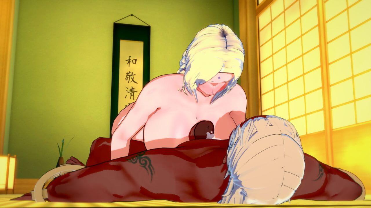 Koikatsu Tsunade becomes Raikages Tie the knot Naruto - accouterment 3