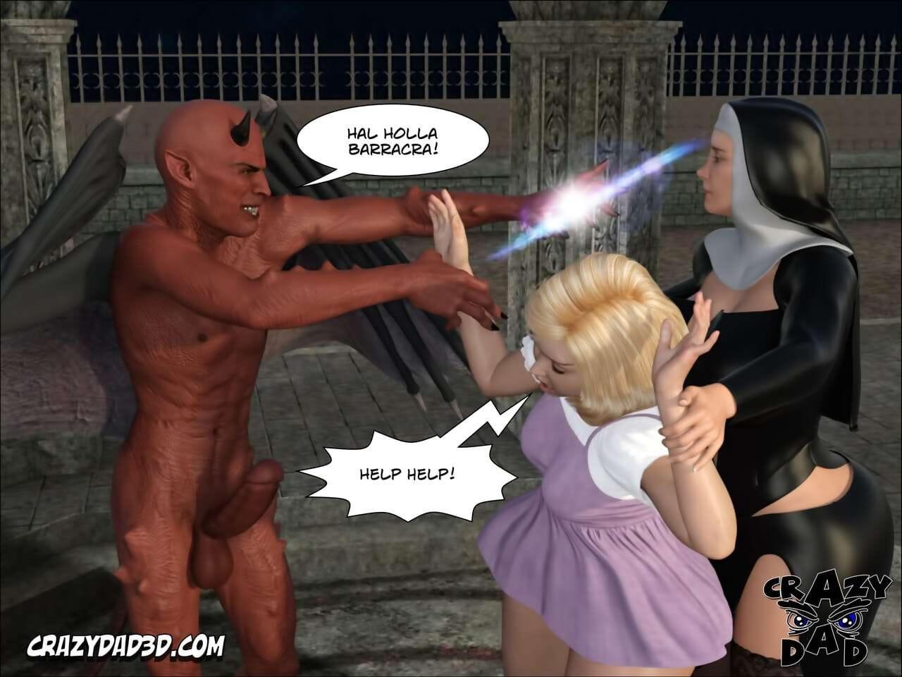 Senseless Pa 3D Shunned Nun 2 English - accouterment 2