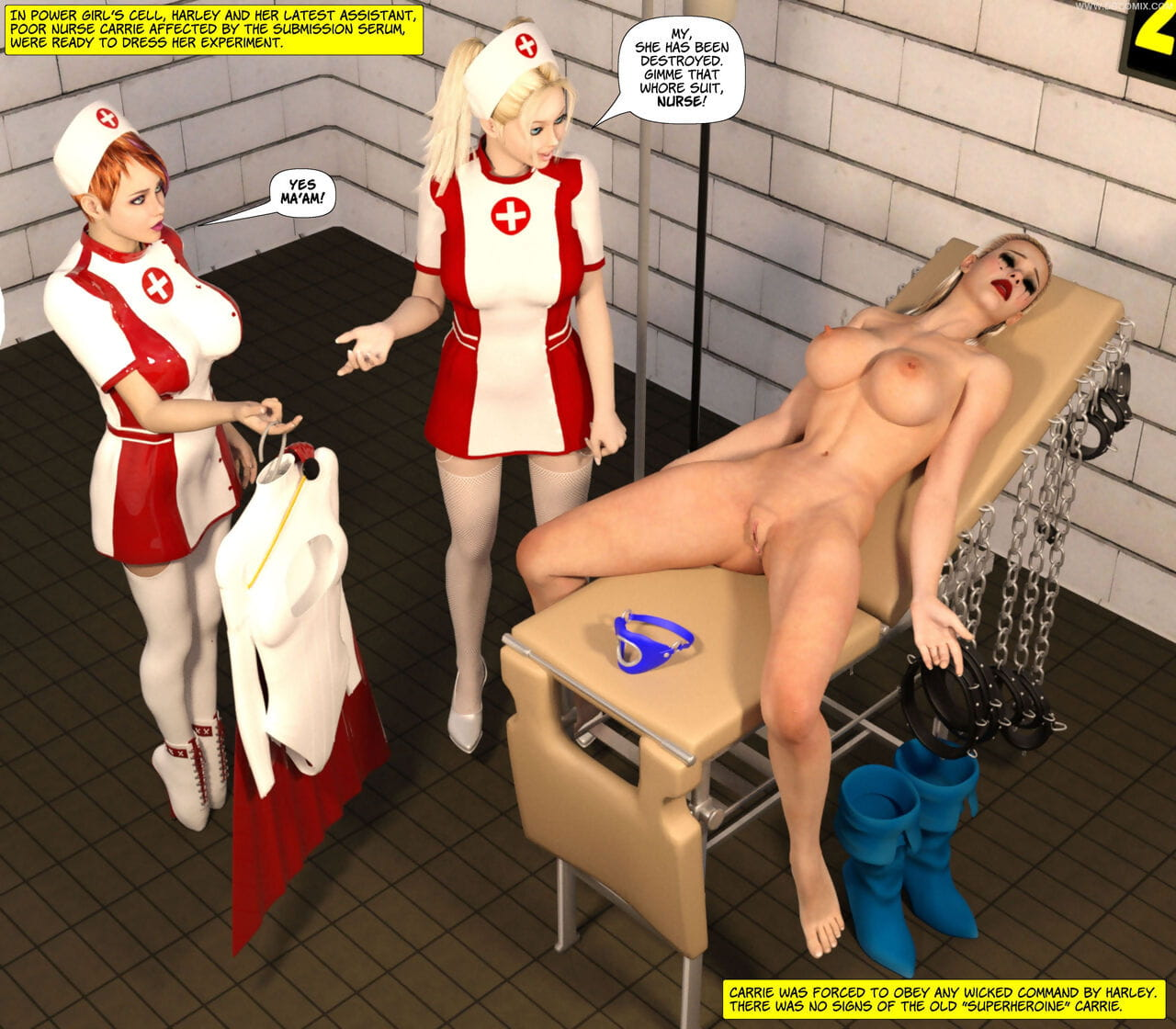 DBComix Experimental Arkham be fitting of Superheroines 6 - Cum Striving - faithfulness 2