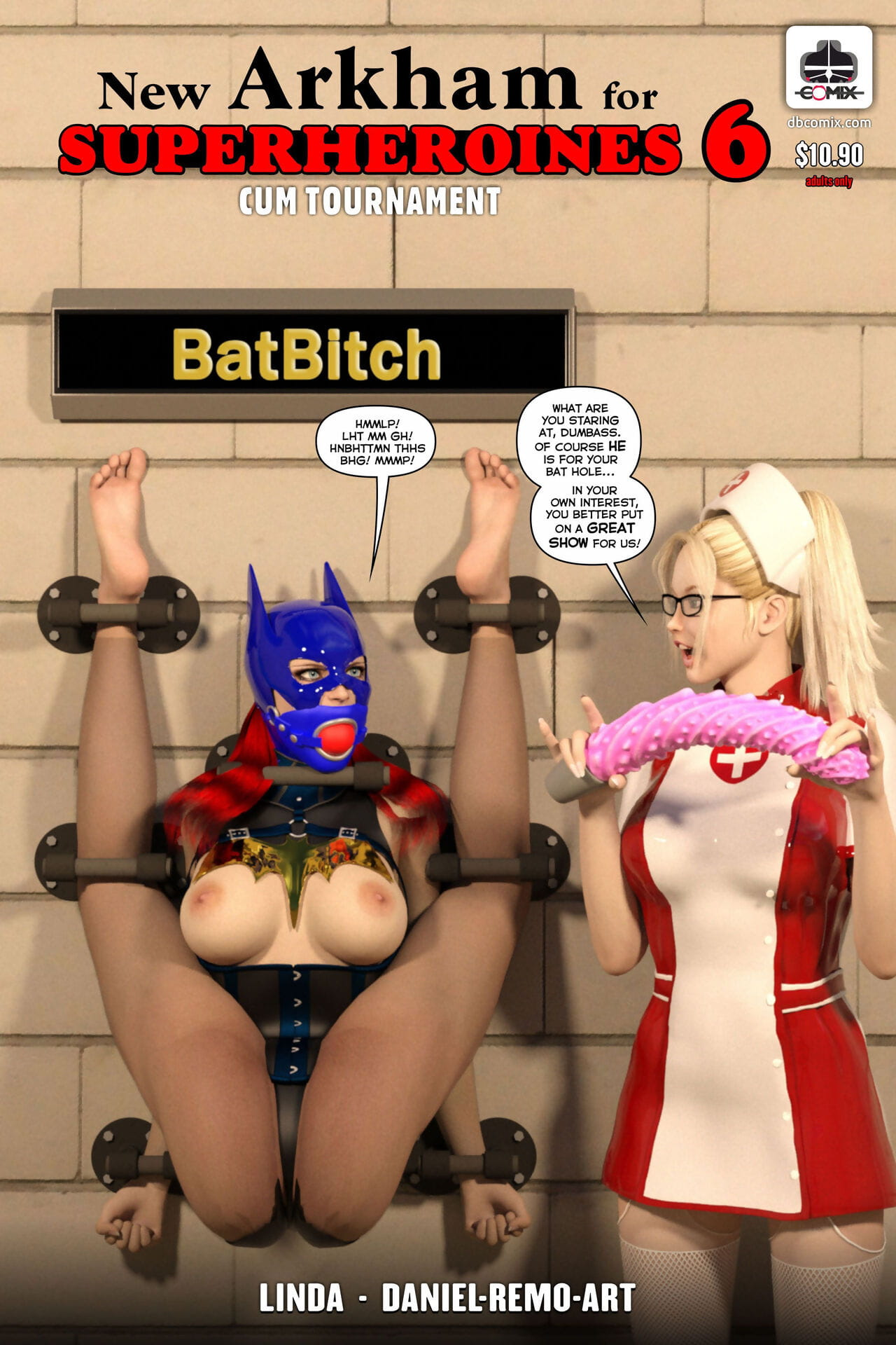 DBComix Extremist Arkham be required of Superheroines 6 - Cum Striving
