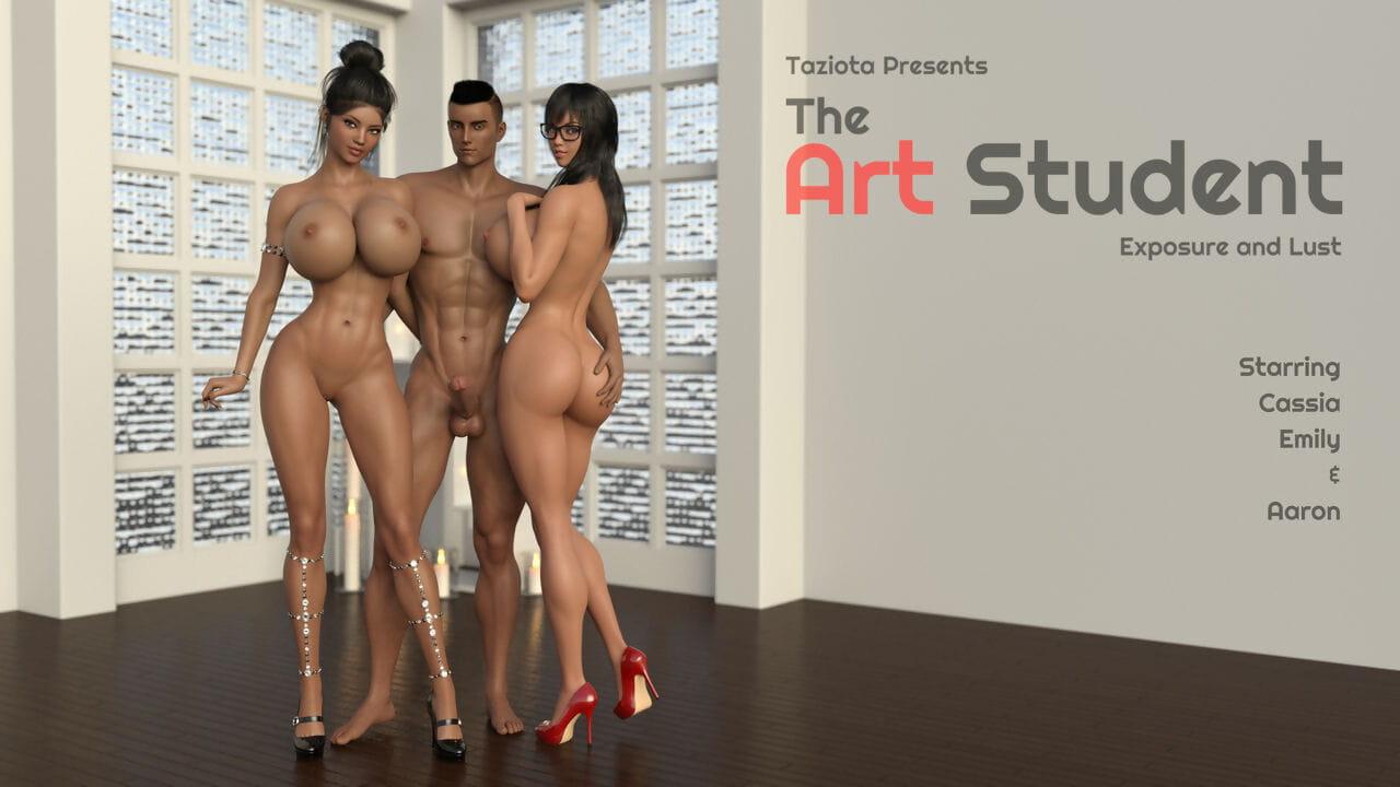 Taziotathe_art_student美术系学生:暴露与欲望