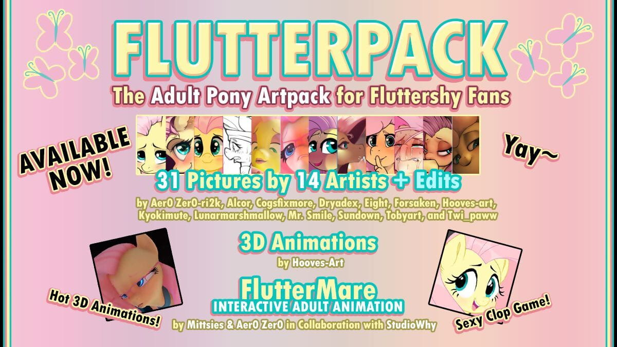 Assorted FlutterPack Yay! Print run MLP:FiM HD pictures matchless