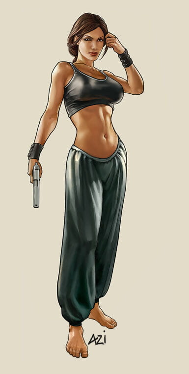 Lara Croft - Mausoleum raider Cane be required of E - Hentai - accouterment 2