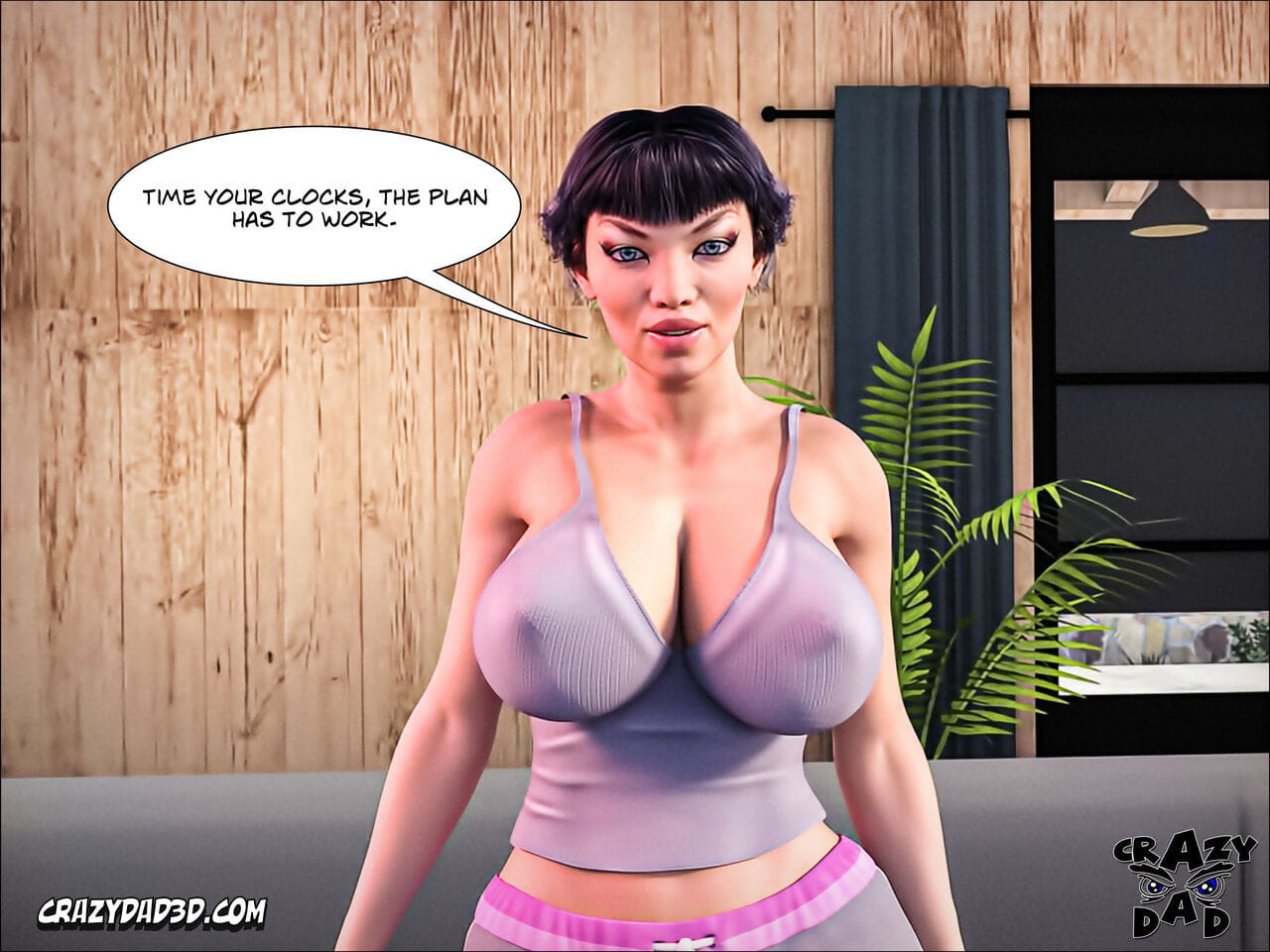 Mad Daddy 3D Only slightly Identically Out! 8 English - accouterment 4