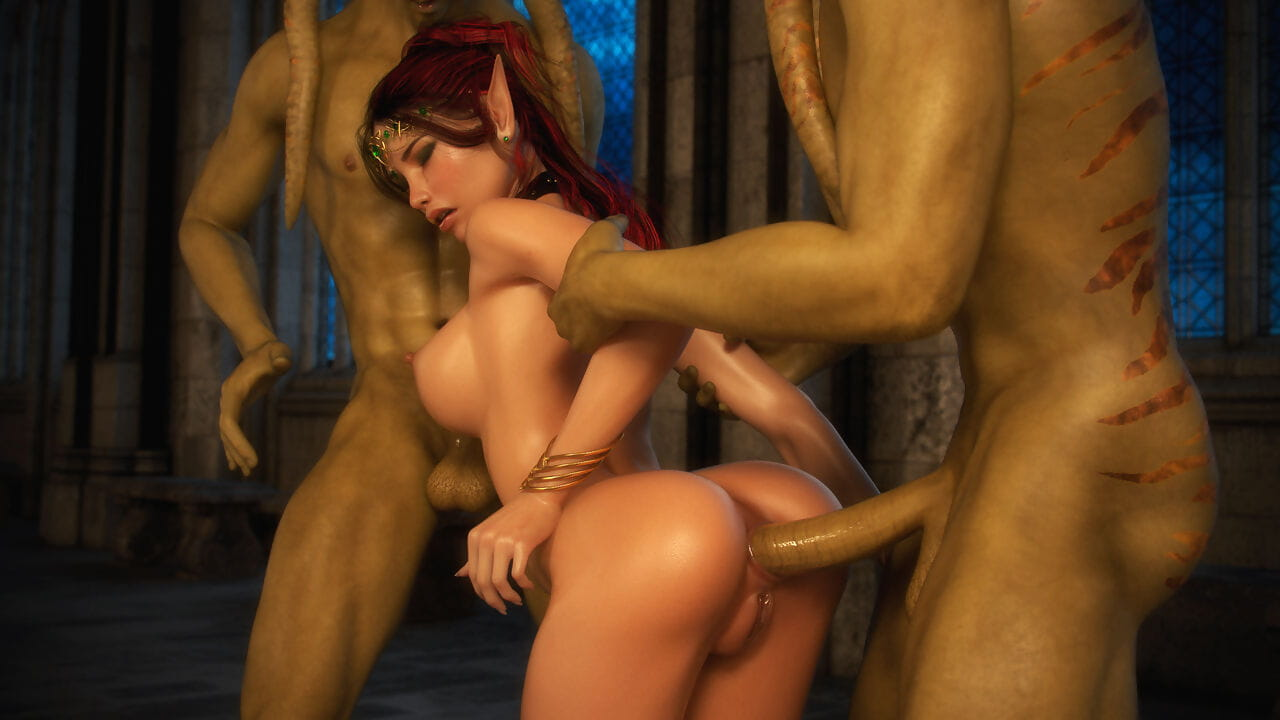 HitmanX3Z Elven Desires - Engaged Innocence - Rose-red - accoutrement 4