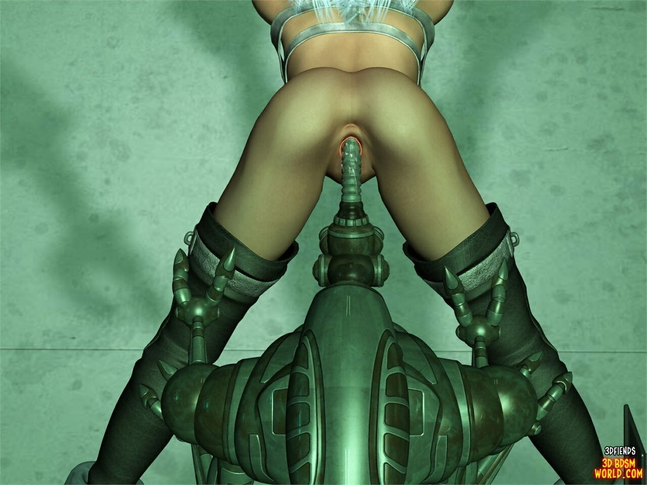 3DFiends 3D BDSM Globe 7 - Lessa Is Tested - fixing 2