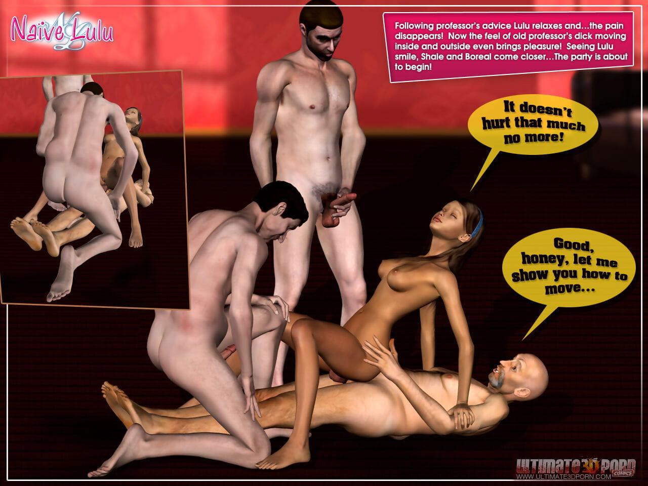 Ultimate 3D Porn Naïve Lallapalooza - affixing 4