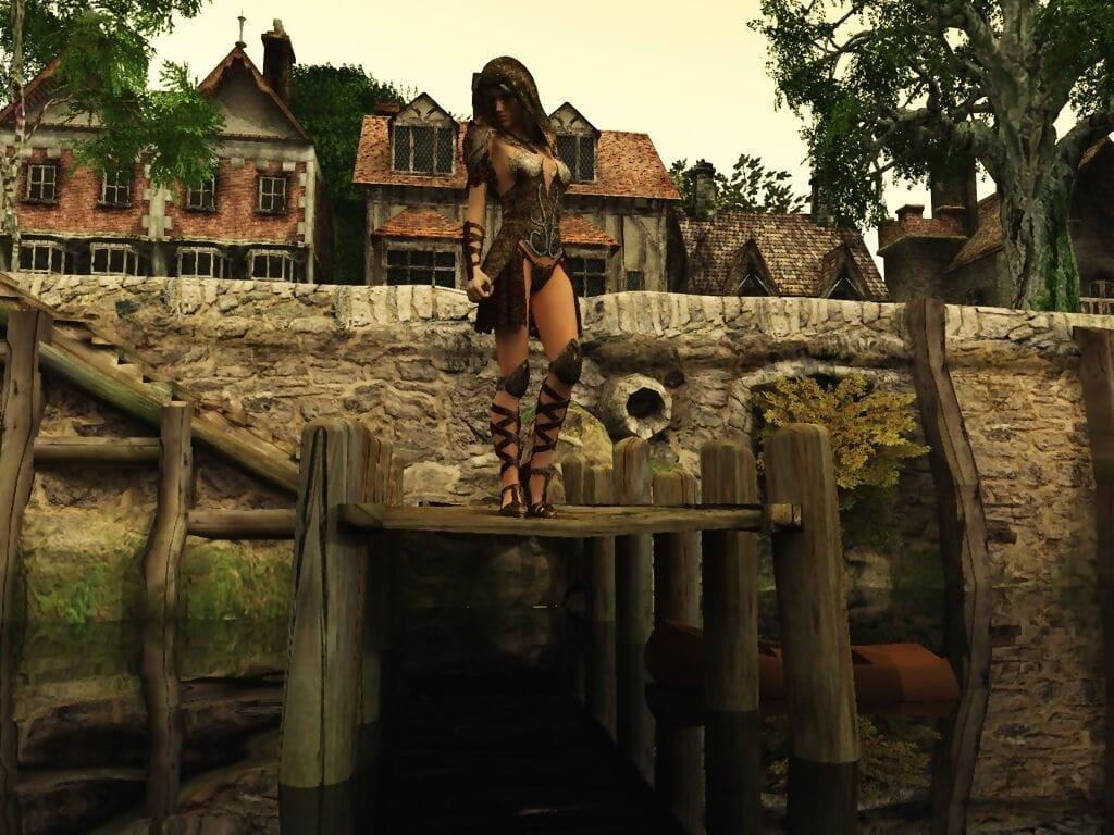 Werewolf Shags Protagonist Doll greater than Drop anchor