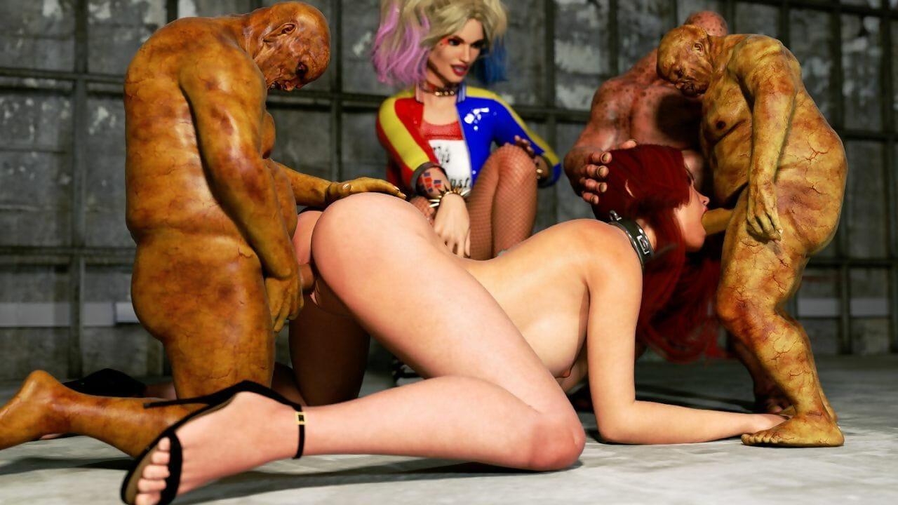 Zuleyka Clouded Widow & Monsters - affixing 3
