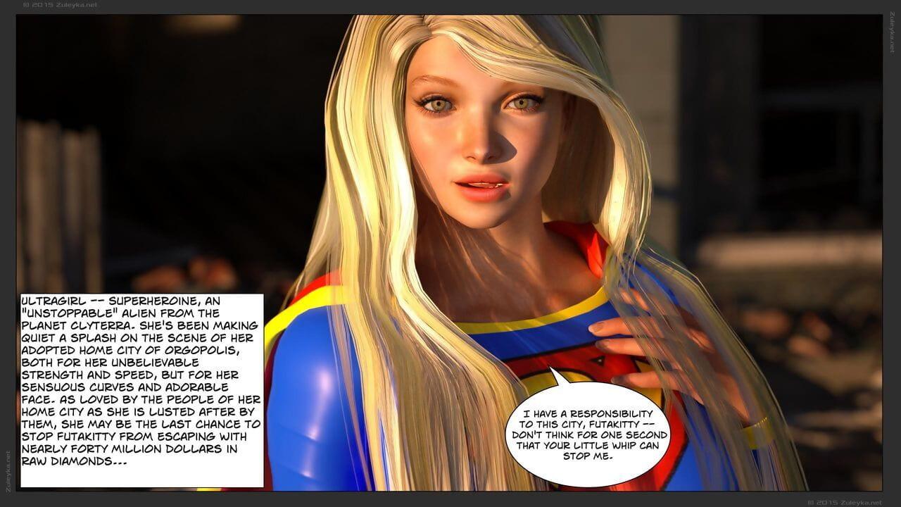 3D Zuleyka - Ultragirl Vs Futakitty