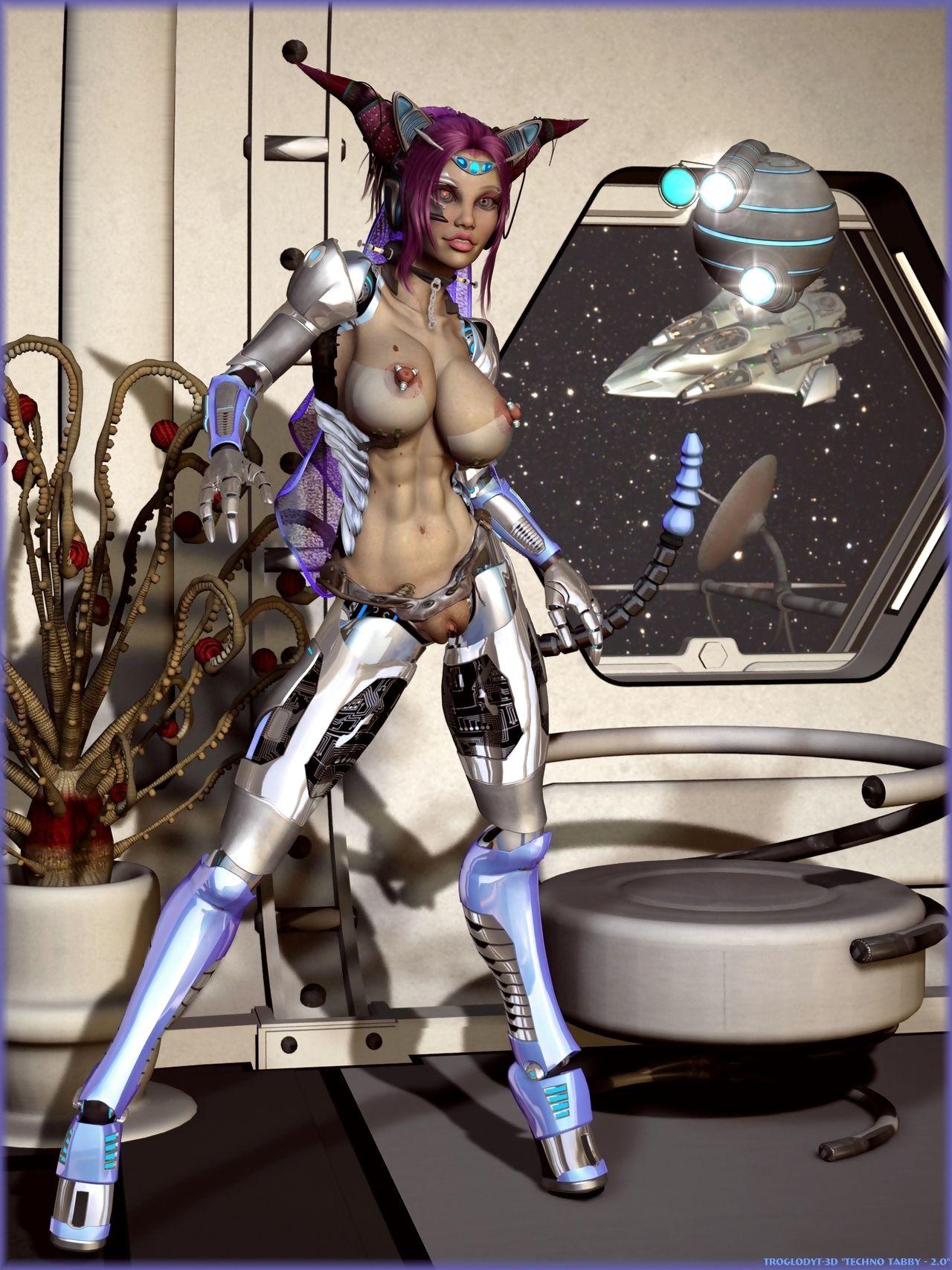 Demongirls & Scifi 3D veranda - fidelity 2