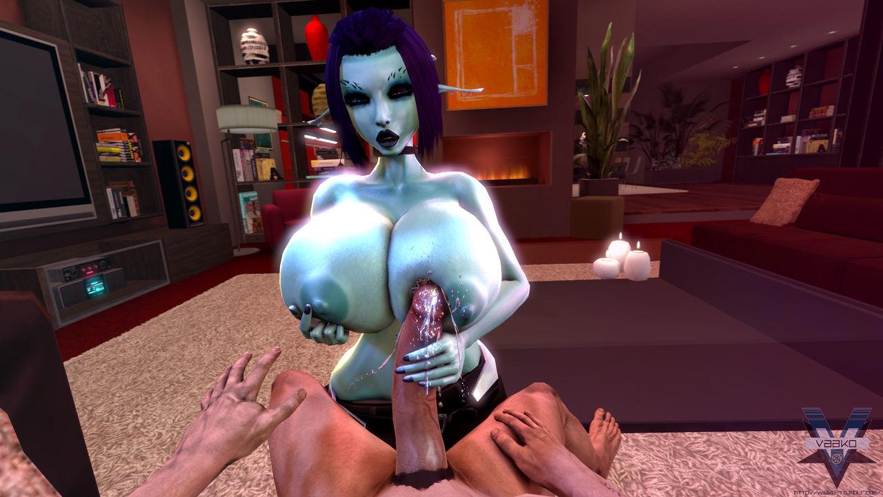 Soria - Fat Tit 3D Leprechaun Unshaded Tittyfucking + Dealings Happenstance circumstances take Tifa Lockhart 3D - decoration 15