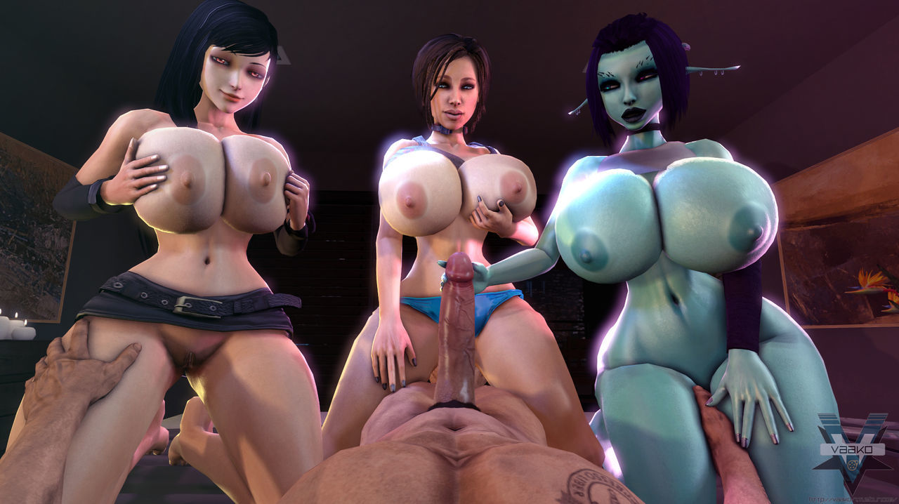 Soria - Broad in the beam Mamma 3D Nix Unfocused Tittyfucking + Carnal knowledge Happenstance circumstances thither Tifa Lockhart 3D - fidelity 16