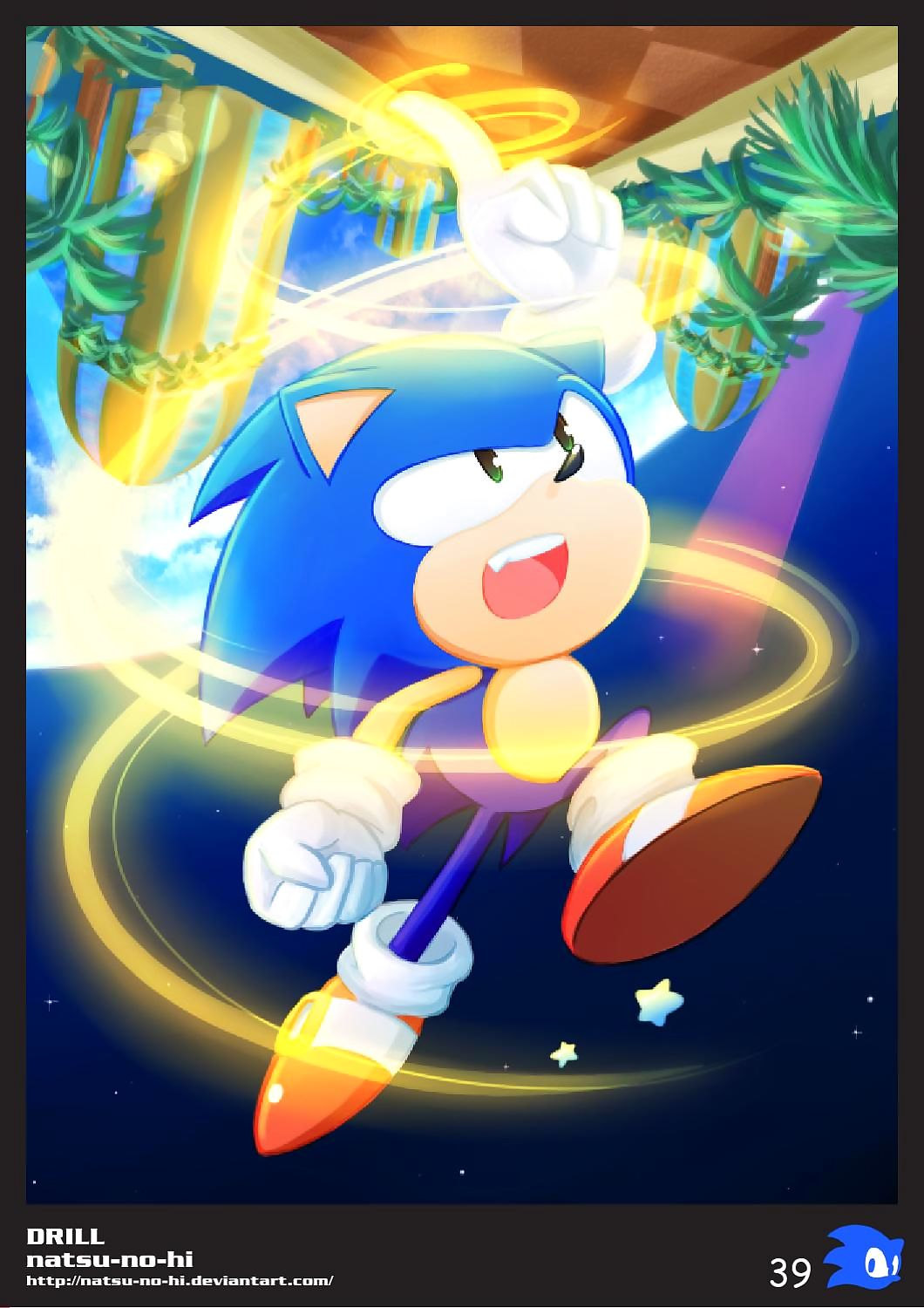 20th Sonic Chum around with annoy Hedgehog Blackmail - accouterment 3
