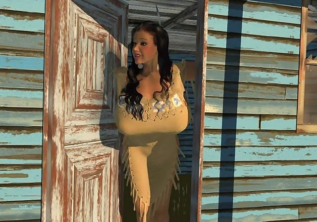 Spacious breasted 3d american indian hottie posing not allowed - fixing 428