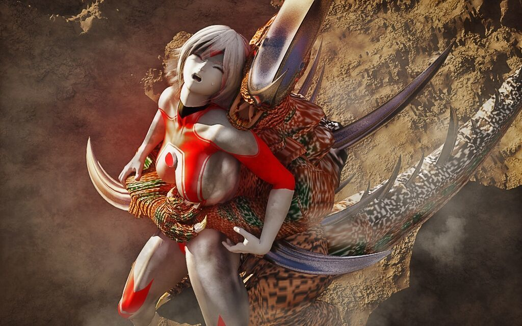 Spent Ultrawoman CG portico a - ornament 2