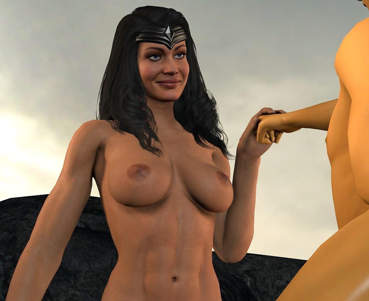 Diana Bruce BMWW WonderBat - Injustice/Injustice2/Arkham/DC - affixing 5