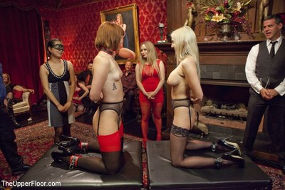 Claire robbins and christie stevens get group-bonked