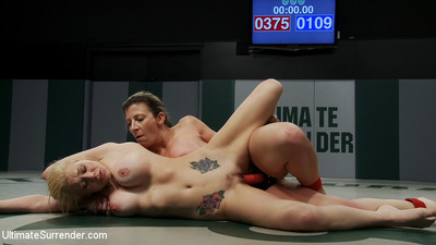 Fairy and slim samantha gets to wrestle sin sara jay and be obliged to rub her during