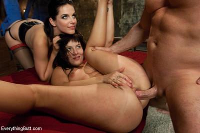Ashli endures intense discipline and heavy toys in her ass!!!