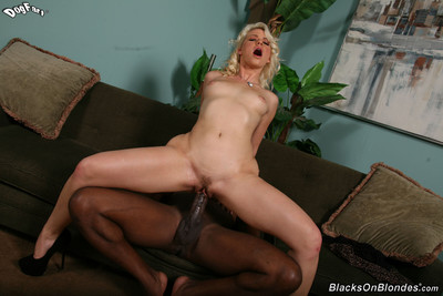 Annika albrite makes a fancy black stick slippery and riding on it
