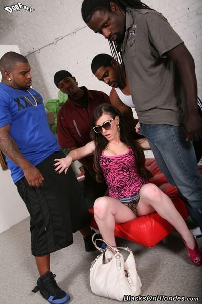 Jennifer white acquires gangbanged