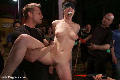 Lily labeau gets played in appealing pool hall