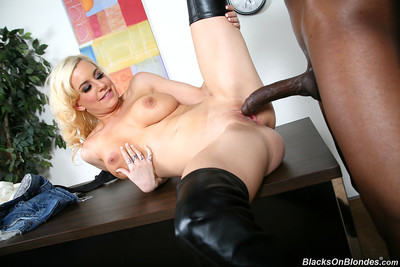 Busty mariah madysinn does lusty anal with a hung black bull