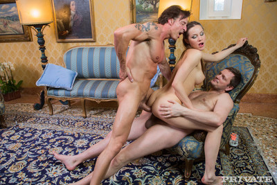 Russian slut double penetrated