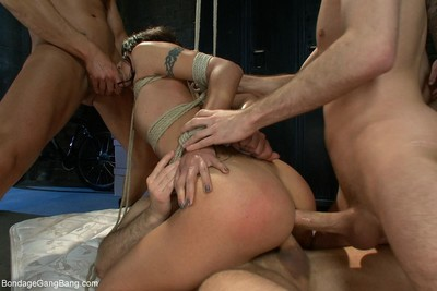 Partner surprises his wife with a gangbang for her birthday