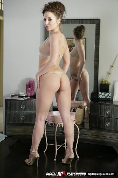 Hannah west anal stuffed by a meatshaft