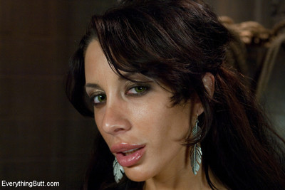 Mya nichole glides into complete obedience as she lets james deen take complete