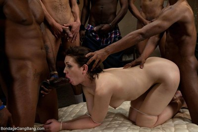 Sarah shevon is back for some other orgy extravaganza!!! this time she submits