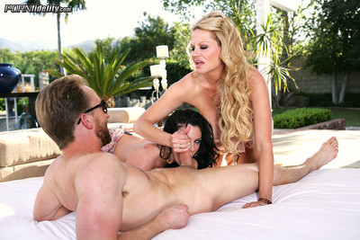 Kelly madison, ryan madison and andy san dimas