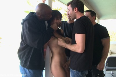 Hardcore gangbang  the exchange student  eastern princess  dual penetration rough se