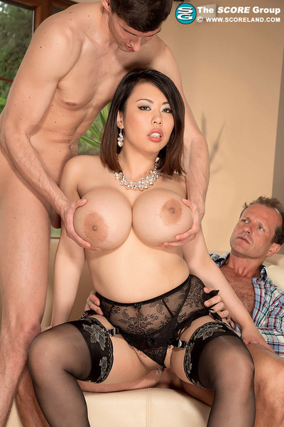 Busty asian tigerr benson dp anal superfuck