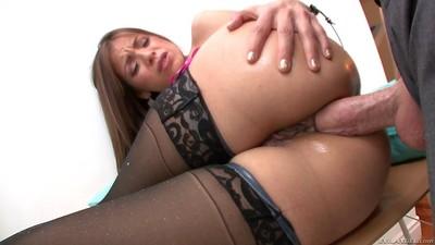Busty yurizan beltran got her anus dicked hard