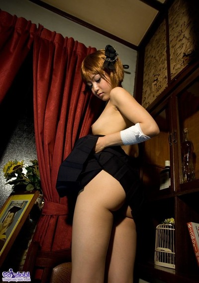 Injured japanese coed gal purchase stripped for professor