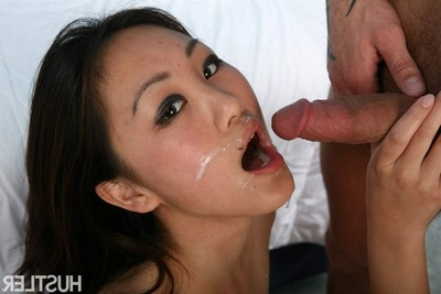 Evelyn lin moist eastern model acquires nailed on the sofa