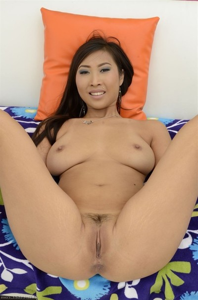 Sharon lee obtains her waste pounded on the sofa