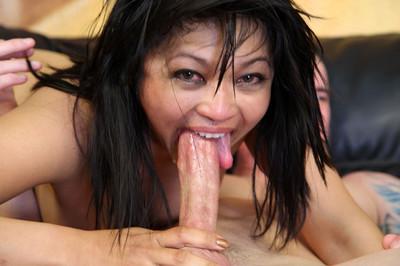 Japanese strumpets getting anus slammed and face dug
