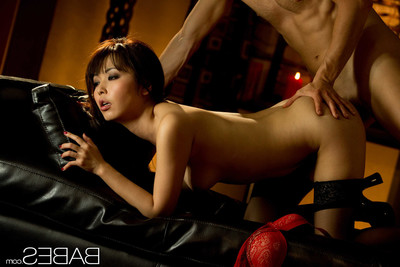 Wild Chinese cutie marica hase riding ramrod in nylons