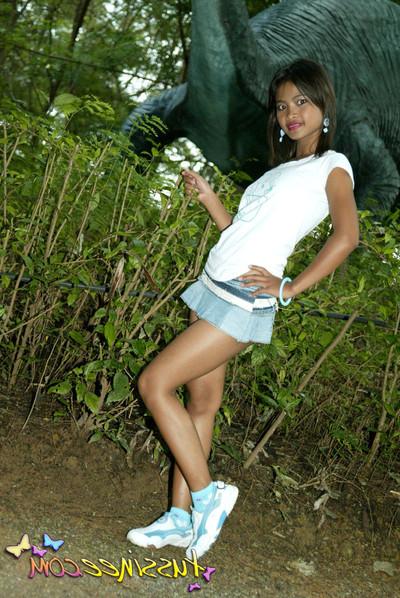 Thai juvenile chicito at park