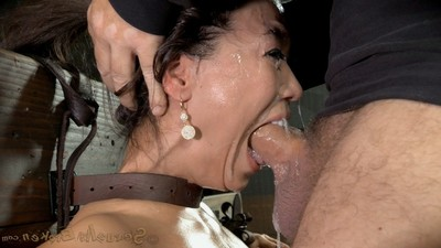 Sybianed fucking demon crucified and throatboarded keen to a drooling mess of slut!
